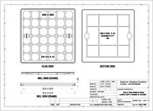 Poklop štvorcový 600x600 A 15 600x600-A-15KN-300x218