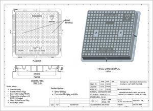 Poklop štvorcový 600x600 D 400 600x600D400KN-300x218
