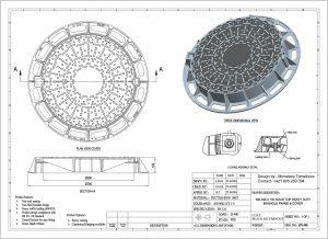 Poklop kruhový DN 600 D 400 KN uzamykateľný DN-600-D400-KN-uzamyk-300x218