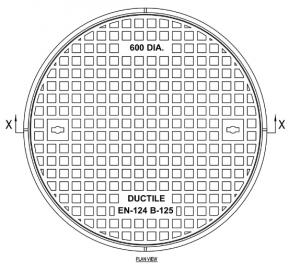 Manhole Cover Poklop-kruhový-DN-600-B-125-KN-300x271