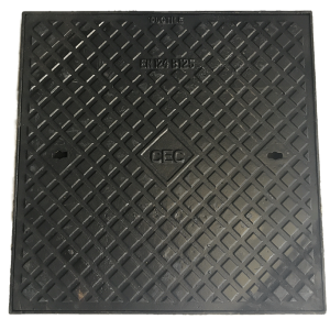 Square lockable manhole cover 600x600 B 125 KN 600x600B125KN-300x300